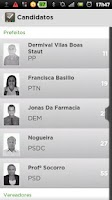 Screenshot of Voto Consciente