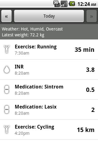 【免費健康App】INR Tracker Demo-APP點子