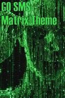 Screenshot of GO SMS PRO Matrix Theme