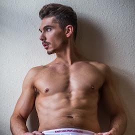 by Vincent Rowley - People Portraits of Men ( male body, beautiful men, handsome men, handsome men muscle )