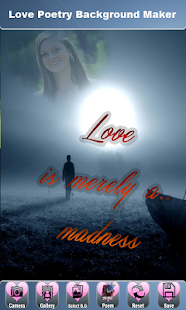 Love Wallpaper Generator : App Love Poetry Background Maker APK for Windows Phone Android games and apps