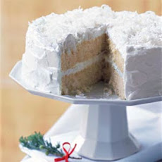 Double-Coconut Cake