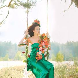 Tatiana  by Max Feshchenko - People Fashion ( fashion, girl, portrait )