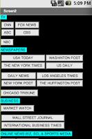Screenshot of US NEWS