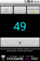 Screenshot of Micro Counter