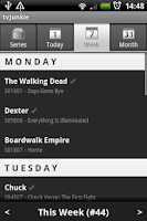 Screenshot of tvJunkie
