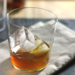 Bourbon and Ginger Cocktail