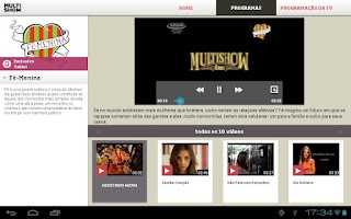 Screenshot of Multishow