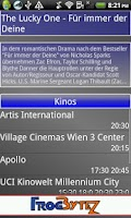 Screenshot of Vienna Movie Locator