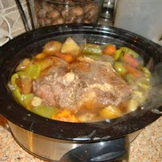 Garlic Top Sirloin Pot Roast