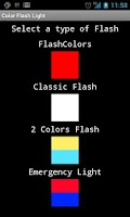 Screenshot of Free Color Flashlight