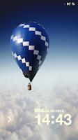 Screenshot of Fire Balloon Live Locker Theme