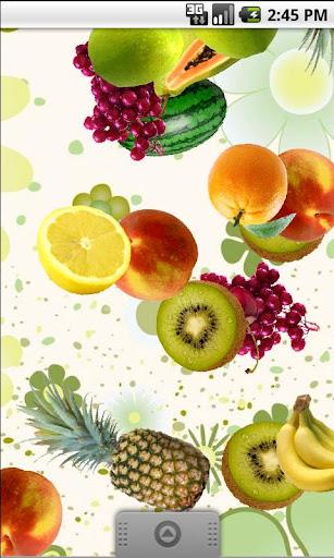 Falling Fruit Live Wallpaper