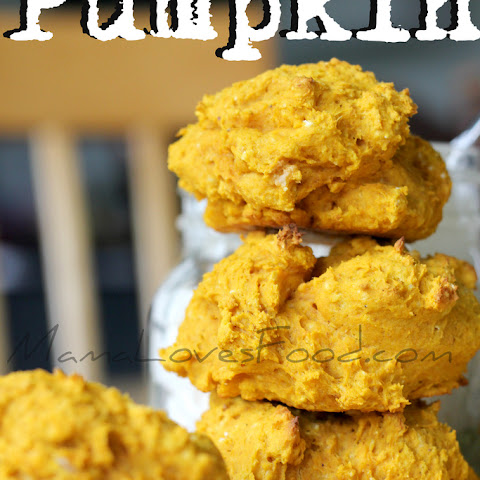 Easy Pumpkin Drop Biscuits