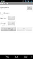 Screenshot of Brother Print SDK Demo