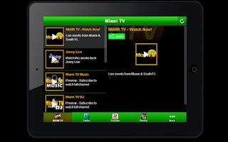 Screenshot of Miami TV