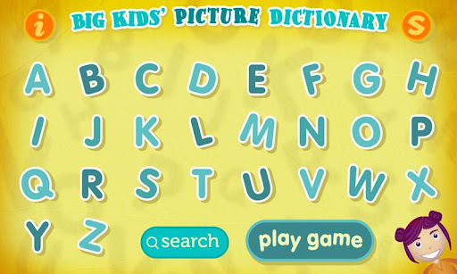 Big Kids Picture Dictionary HD