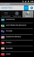 Screenshot of Care Symbols