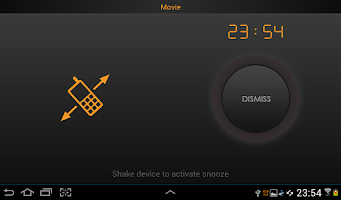 Screenshot of Bedside alarm clock