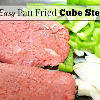 Easy Pan-Fried Cube Steaks