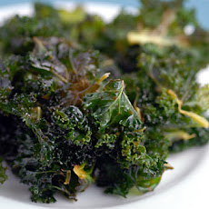 Lemon Kale Chips
