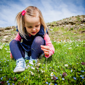 wild flowers by Sheena True - Babies & Children Children Candids