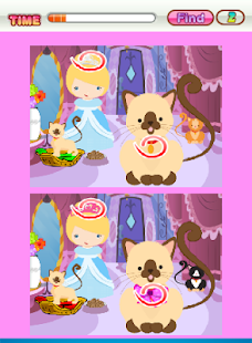 Kitty Game What's Different - screenshot