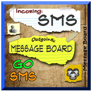 Customized writing paper go sms themed
