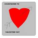 Valentine Day 2013 Countdown