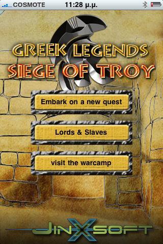 Greek Legends - Siege of Troy