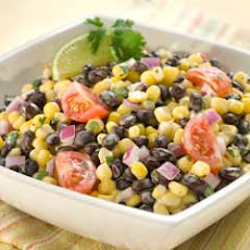 Black Bean & Corn Ranch Salad