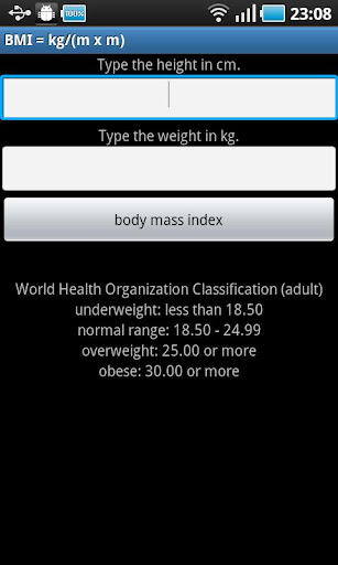 成人體重指數(kg)