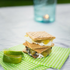 Key Lime Pie S'mores
