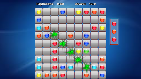Color Line Classic Game - screenshot
