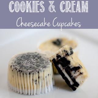 Cookies & Cream Cheesecake Cupcakes Recipes