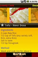 Screenshot of Dosa
