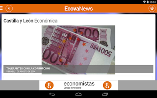 Screenshot of EcovaNews