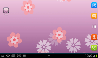Screenshot of Flower Live Wallpaper for S4