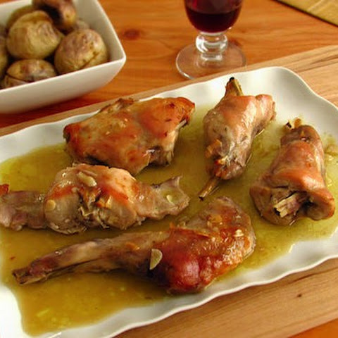 Roast Rabbit With Potatoes