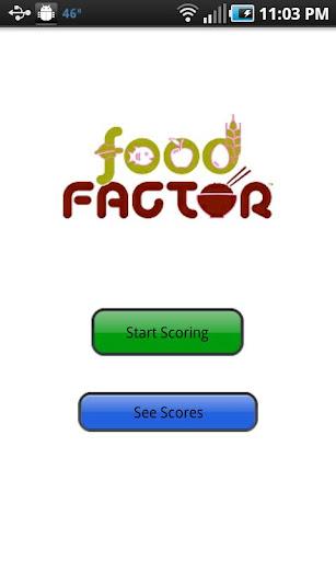 Food Factor Scoring