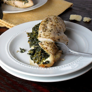 Easy Spinach and Parmesan Stuffed Chicken Breasts