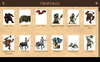 Screenshot of 3D Virtual Tabletop