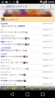 Screenshot of TkMixiViewer for mixi