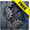 Mechanical gear free icon