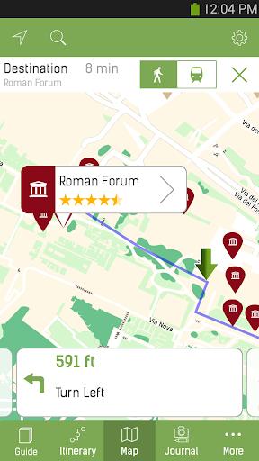 Rome Travel Guide – mTrip - screenshot