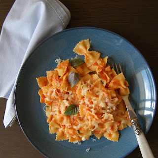 Pasta With Vodka Tomato Sauce