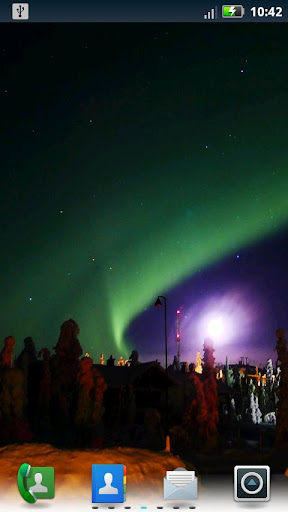 Northern Lights Live Wallpaper