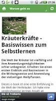Screenshot of Kräuter (er)kennen lernen