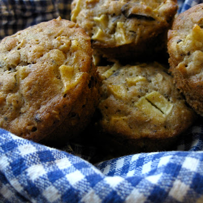 Apple Oat Muffins