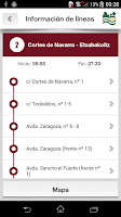 Screenshot of Tu Villavesa - Bus Pamplona